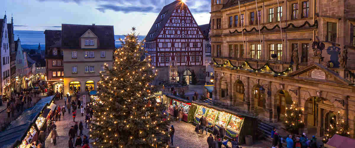 Natale a Rothenburg- Reiterlesmarkt